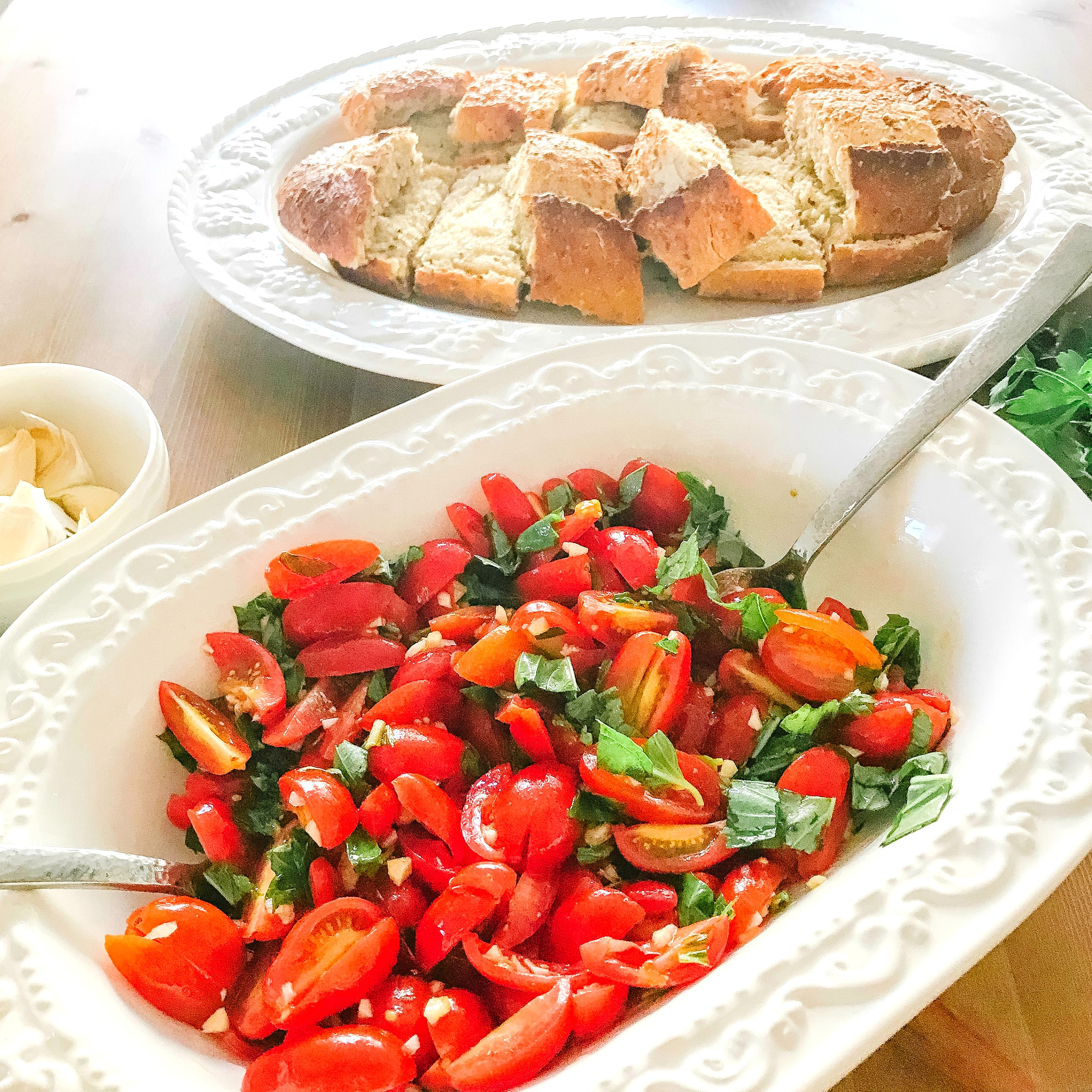 Jamie Krause, Bruschetta, Vegan, Recipes, Easy, Okanagan, Kelowna, B.C., Blogger, Healthy, Fast