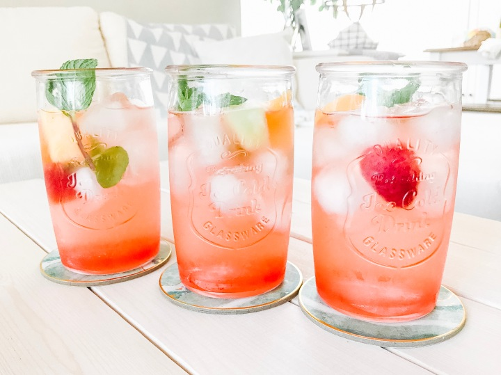Danielle's Tropical Peach Sangria