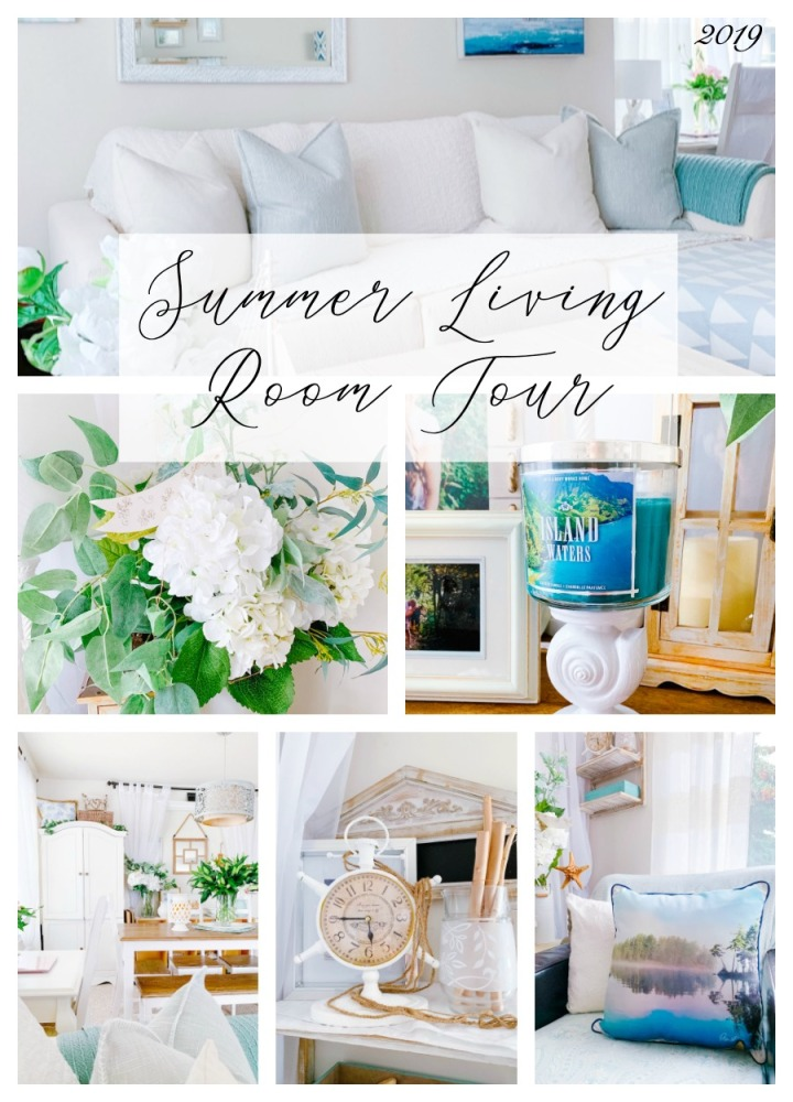 Summer Living Room Tour