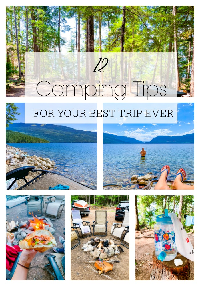 12 Camping Tips for Your Best TripEver