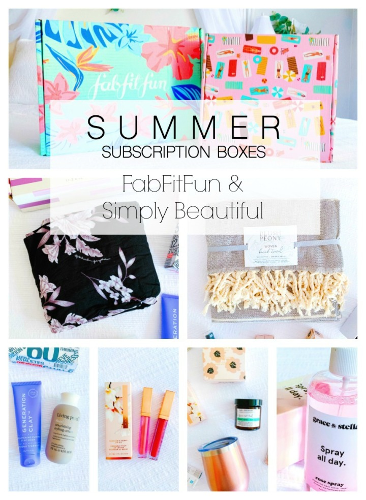 2019 Summer Subscription Boxes