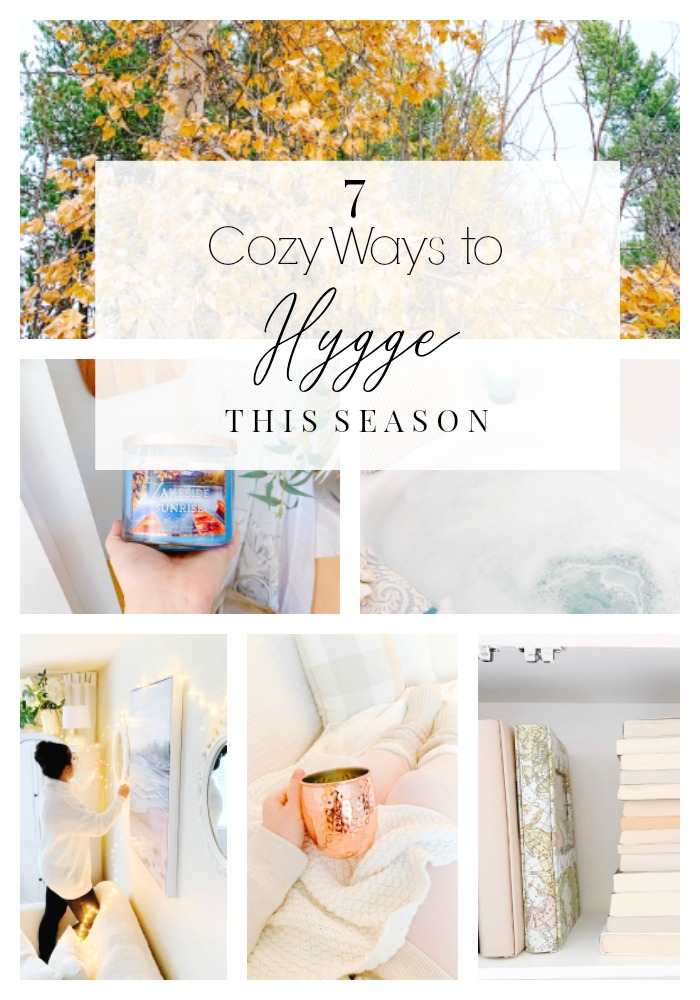 7 COZY WAYS TO HYGGE THIS SEASON