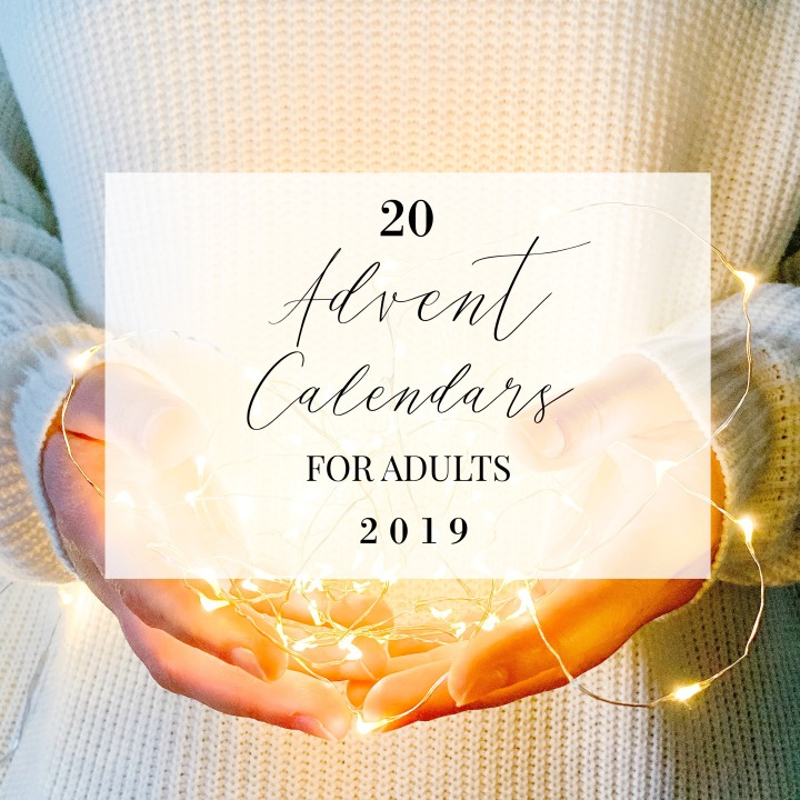 20 ADVENT CALENDARS FOR ADULTS