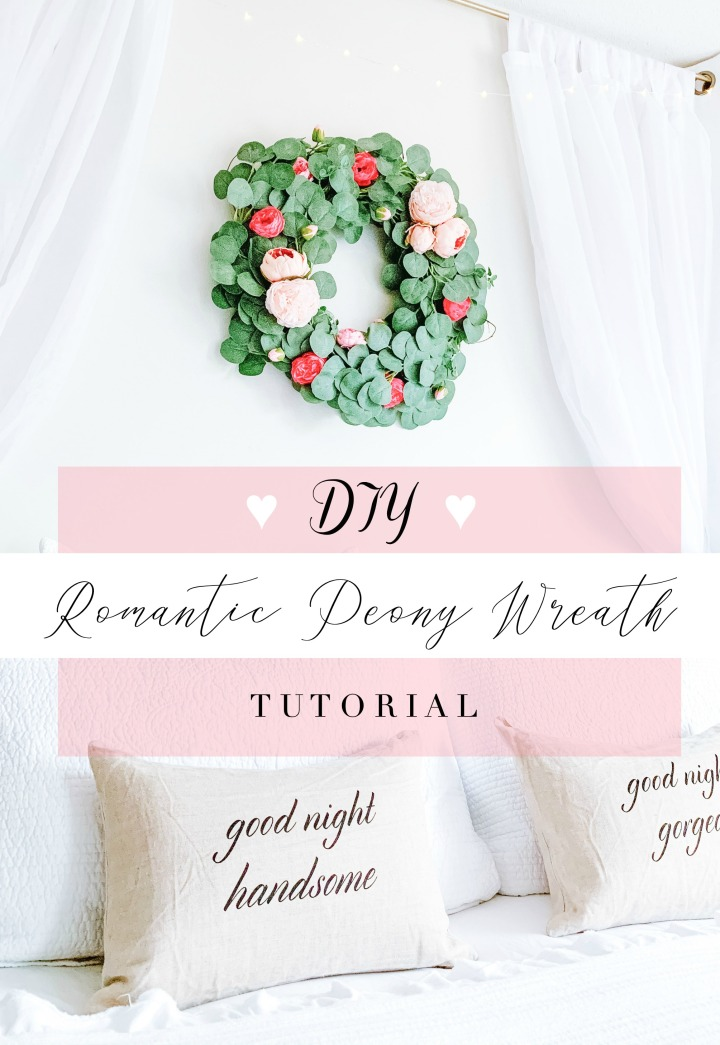 DIY ROMANTIC PEONY WREATH TUTORIAL