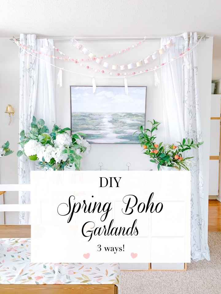 DIY SPRING BOHO GARLANDS
