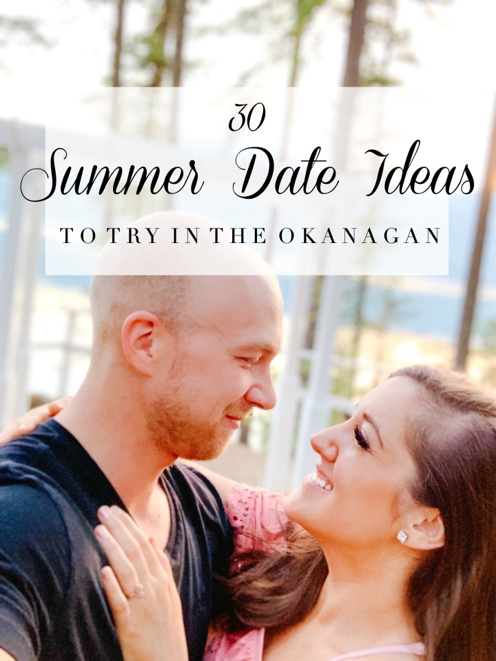 30 SUMMER DATE IDEAS